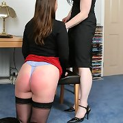 Mature otk spanked