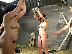 Bound and spanked amateur BDSM