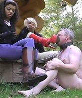 Muddy boot slave