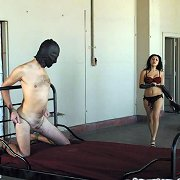 Male bound, whipped and ass fucked