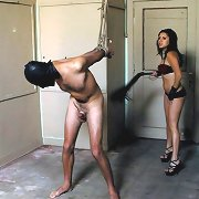 Mistress punished slave