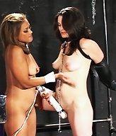 Mistress Maxine X ties up Zen in this kinky bondage scene