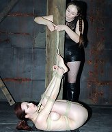 Emily Marilyn does not normally enjoy BDSM but there is something about the way Sister Dee dominates her will that makes everything so much hotter.