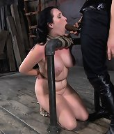 Samantha Grace is such a bondage slut that she carries rope with her everywhere she goes, just in case a scene springs up in the streets.