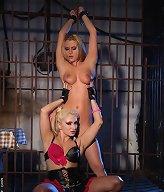 Sexy babe got captured by mistress Lee Lexxus