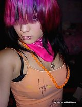 Nice collection of Joey\\\'s emo and punk selfpics