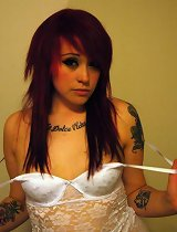 Pictures of an amateur inked punk GF