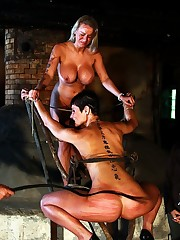 Juicy babes in trepidation and pain