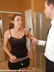 12-stroke panties down chastising finale be beneficial to Dr Miller, high-strung the brush toes