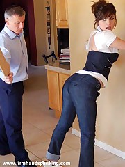 A blistering bare root spanking is only the start of a steep learning curve