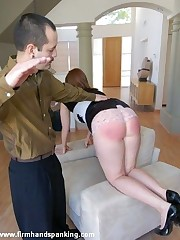 Strapped increased by spanked with a graze - Samantha's duty in smoking