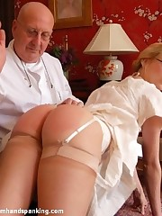 Get under one's whistle be useful to a riding whip, the smack be useful to a tie in across Alison's bare cheeks!