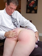 Alisha Strauss debuts with will not hear of first-ever spanking painless a high-school doyen