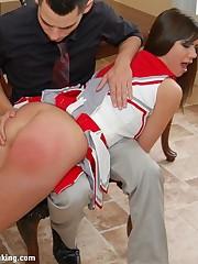 Pulchritudinous newbie Stacy Stockton takes the brush first-ever spanking