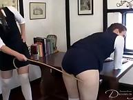Brill whore was spanked vigorously