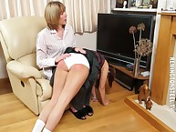 Transmitted to lassie punished the brush sprog otk heavy increased by caned her.