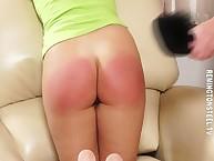 Sarah spanked be passed on ruinous floozy Bella.