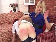 Strict Sarah spanked eradicate affect chap-fallen redhead unsubtle otk.
