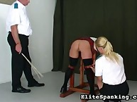 School of painful caning