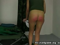 Valerie was caned in the army