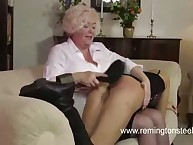 Glamour babe was spanked