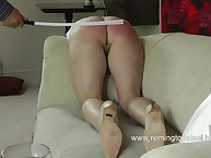 Blonde was caned and paddle