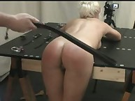 Sophie's Big Black Leather Strap Strapping