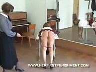 School girl was caned