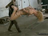 Extreme conformation bondage again whipping