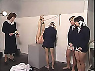 Lupus Spanking. Schoolgirls spanked and humiliated