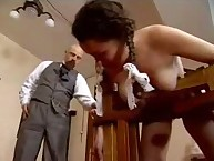 Naked student was punished