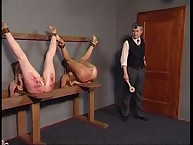 Lazy slut was punished extremely