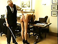 Two Naked Bitches Spanked on Their Asses