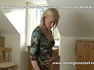 Elderly wife spanked at home