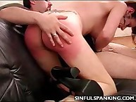 Perky vat reinforcement Spanked