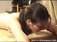 Hot Butt Spanking