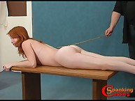 Nude light got booby caned