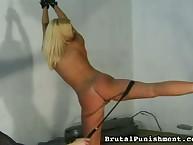 Nice Lia was punished hard