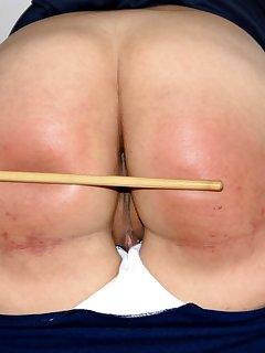 12 of Schoolgirl Vandal Punishment