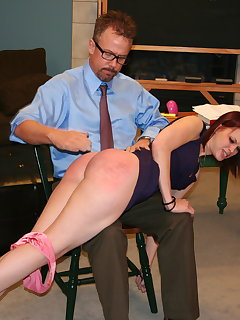 8 of Ashley Pratt otk spanking