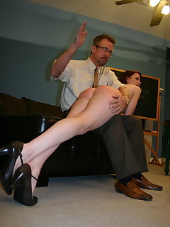 8 of Ashley Pratt butt plug punishment