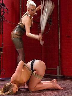 15 of AJ Applegate Flogged by Lorelei Lee